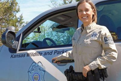 Profile of Kansas Game Warden Angie Reisch